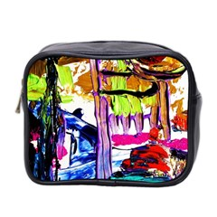 Walk With A Dog 1/1 Mini Toiletries Bag 2-side by bestdesignintheworld