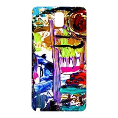 Walk With A Dog 1/1 Samsung Galaxy Note 3 N9005 Hardshell Back Case by bestdesignintheworld