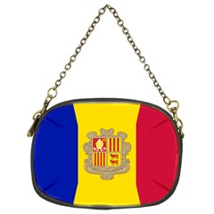 National Flag Of Andorra  Chain Purses (two Sides)  by abbeyz71