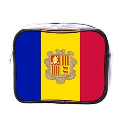 National Flag Of Andorra  Mini Toiletries Bags by abbeyz71