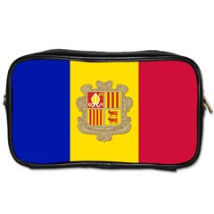 National Flag Of Andorra  Toiletries Bags by abbeyz71