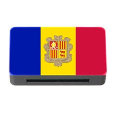 National Flag Of Andorra  Memory Card Reader With Cf by abbeyz71