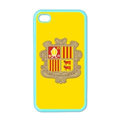 National Flag Of Andorra  Apple Iphone 4 Case (color) by abbeyz71