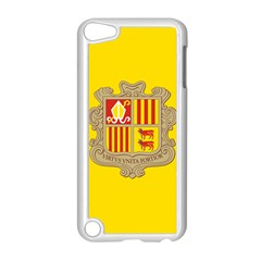 National Flag Of Andorra  Apple Ipod Touch 5 Case (white) by abbeyz71