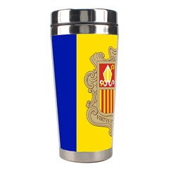 National Flag Of Andorra  Stainless Steel Travel Tumblers by abbeyz71