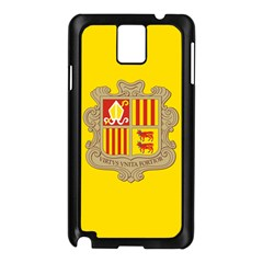 National Flag Of Andorra  Samsung Galaxy Note 3 N9005 Case (black) by abbeyz71