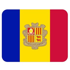 National Flag Of Andorra  Double Sided Flano Blanket (medium)  by abbeyz71