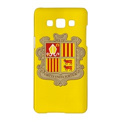 National Flag Of Andorra  Samsung Galaxy A5 Hardshell Case  by abbeyz71