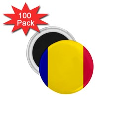Civil Flag Of Andorra 1 75  Magnets (100 Pack)  by abbeyz71