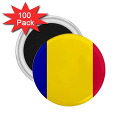 Civil Flag Of Andorra 2 25  Magnets (100 Pack)  by abbeyz71