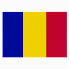 Civil Flag Of Andorra Large Glasses Cloth (2 Side) by abbeyz71