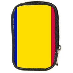 Civil Flag Of Andorra Compact Camera Cases by abbeyz71