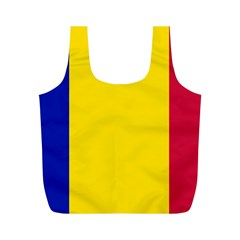 Civil Flag Of Andorra Full Print Recycle Bags (m)  by abbeyz71