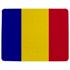 Civil Flag Of Andorra Jigsaw Puzzle Photo Stand (rectangular) by abbeyz71