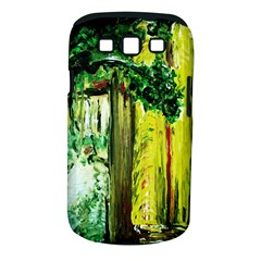 Old Tree And House With An Arch 8 Samsung Galaxy S Iii Classic Hardshell Case (pc+silicone) by bestdesignintheworld