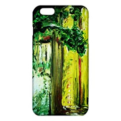 Old Tree And House With An Arch 8 Iphone 6 Plus/6s Plus Tpu Case by bestdesignintheworld