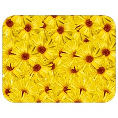 Yellow Flowers Full Print Lunch Bag