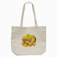 Yellow Rose Tote Bag (cream)