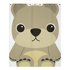 Animal Bear Cartoon Children Kids Shower Curtain 60  X 72  (medium)