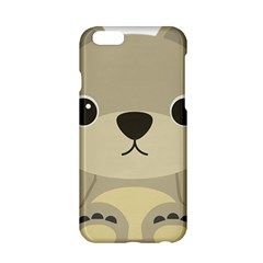 Animal Bear Cartoon Children Kids Apple Iphone 6/6s Hardshell Case by Simbadda