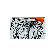 Animal Bird Cartoon Comic Eagle Cosmetic Bag (small)