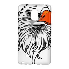 Animal Bird Cartoon Comic Eagle Galaxy Note Edge by Simbadda