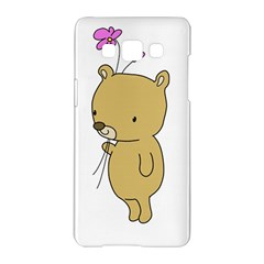 Cute Bear Cartoon Samsung Galaxy A5 Hardshell Case