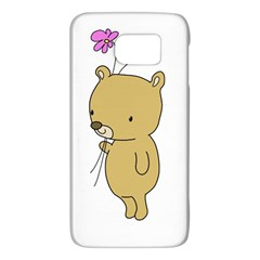 Cute Bear Cartoon Galaxy S6 by Simbadda