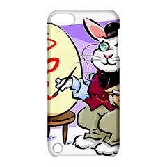 Bunny Easter Artist Spring Cartoon Apple Ipod Touch 5 Hardshell Case With Stand by Simbadda