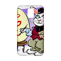Bunny Easter Artist Spring Cartoon Samsung Galaxy S5 Hardshell Case