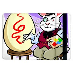 Bunny Easter Artist Spring Cartoon Ipad Air Flip by Simbadda