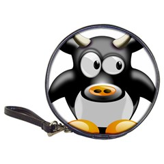 Cow Animal Mammal Cute Tux Classic 20 Cd Wallets