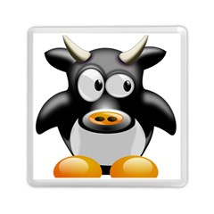 Cow Animal Mammal Cute Tux Memory Card Reader (square)
