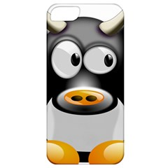 Cow Animal Mammal Cute Tux Apple Iphone 5 Classic Hardshell Case