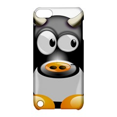 Cow Animal Mammal Cute Tux Apple Ipod Touch 5 Hardshell Case With Stand