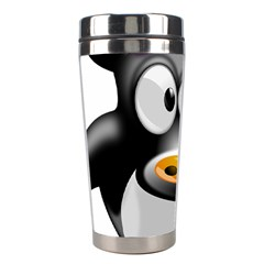 Cow Animal Mammal Cute Tux Stainless Steel Travel Tumblers