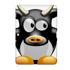 Cow Animal Mammal Cute Tux Samsung Galaxy Tab 2 (10 1 ) P5100 Hardshell Case
