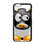 Cow Animal Mammal Cute Tux Apple iPhone 6/6S Black Enamel Case Front