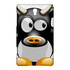 Cow Animal Mammal Cute Tux Samsung Galaxy Tab S (8 4 ) Hardshell Case  by Simbadda