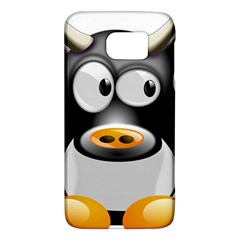 Cow Animal Mammal Cute Tux Galaxy S6