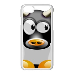 Cow Animal Mammal Cute Tux Apple Iphone 7 Seamless Case (white)