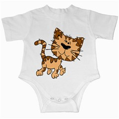 Cats Kittens Animal Cartoon Moving Infant Creepers