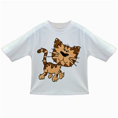 Cats Kittens Animal Cartoon Moving Infant/toddler T Shirts