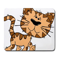 Cats Kittens Animal Cartoon Moving Large Mousepads