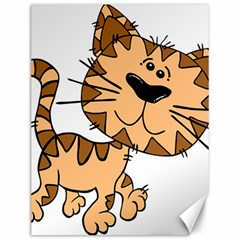 Cats Kittens Animal Cartoon Moving Canvas 12  X 16