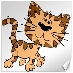 Cats Kittens Animal Cartoon Moving Canvas 16  X 16