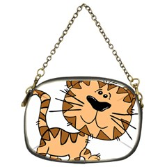 Cats Kittens Animal Cartoon Moving Chain Purses (two Sides)