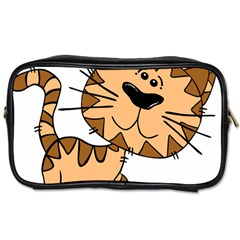 Cats Kittens Animal Cartoon Moving Toiletries Bags 2 Side
