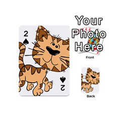 Cats Kittens Animal Cartoon Moving Playing Cards 54 (mini)