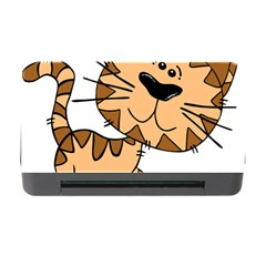 Cats Kittens Animal Cartoon Moving Memory Card Reader With Cf